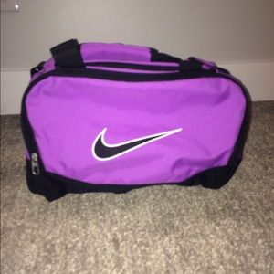 Purple Nike Duffle Bag